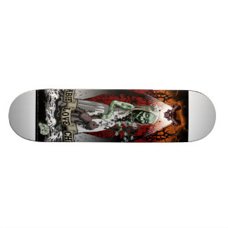 skateboard zombie child