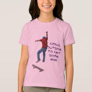 Skateboarder Get Some Air Action Street Kulcha Art T-Shirt