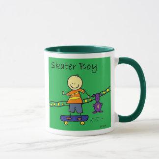 skater boy mug
