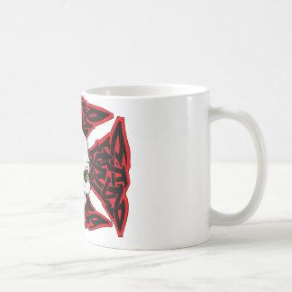Skater Ctoss and skull Coffee Mug