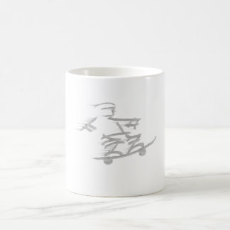 Skater Dude Basic White Mug