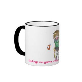 skater_girl_by_i_love_renji[1], skatings no gam... ringer coffee mug