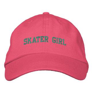 Skater Girl Embroidered Cap Embroidered Baseball Caps