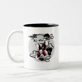 Skater Killer Two-Tone Coffee Mug