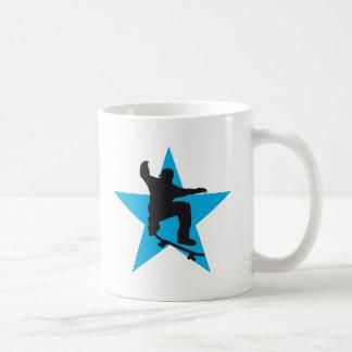Skater star C 2C Basic White Mug