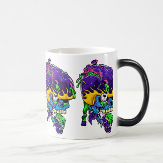 Skater zombie. magic mug