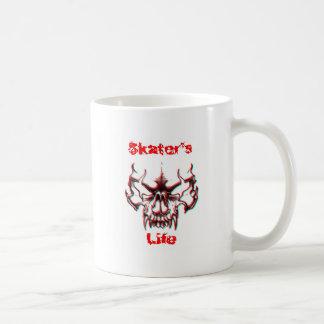 Skater's Life White Coffee Mug