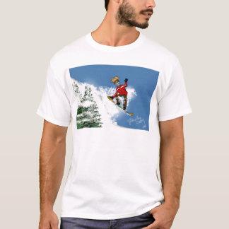 Skeletal Snow Boarder T-Shirt