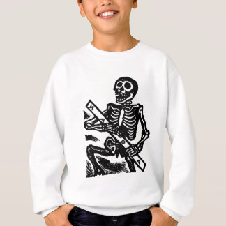 Skeleton, circa 1951 Mexico. Sweatshirt