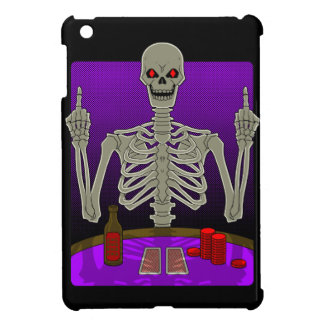Skeleton Poker Flip Case For The iPad Mini