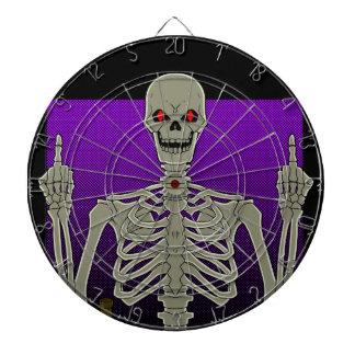 Skeleton Poker Flip Dartboard With Darts
