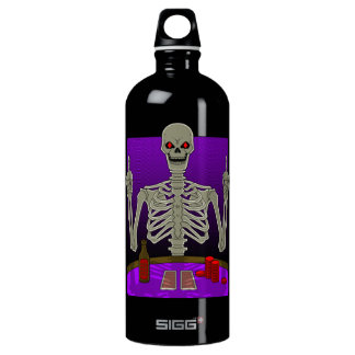 Skeleton Poker Flip SIGG Traveler 1.0L Water Bottle