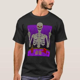 Skeleton Poker Flip T-Shirt