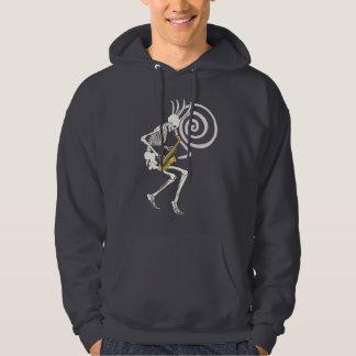 Skeleton Saxophone Hoodie