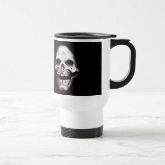 Skeleton Skull Stainless Steel Travel Mug