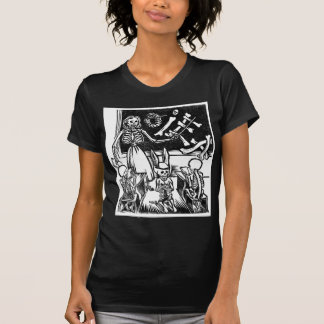 """Skeleton Teacher and Students """"Day of the Dead"""" T-Shirt"""