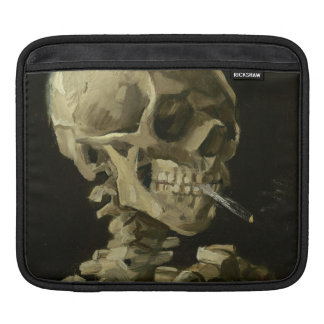 Skeleton with Cigarette 1886 iPad Sleeve