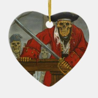 SkeletonCrew.JPG Ceramic Heart Decoration
