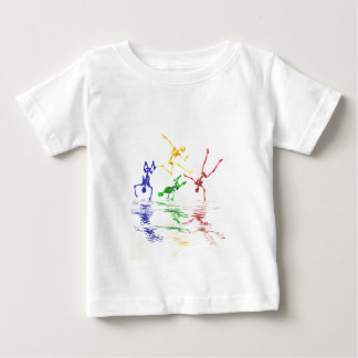 Skeletons breakdancing baby T-Shirt