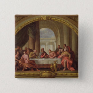 Sketch for 'The Last Supper', St. Mary's, Weymouth 15 Cm Square Badge