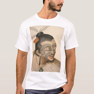 Sketch of a Maori Man, c. 1769 T-Shirt