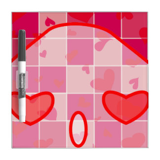 Sketch your love! dry erase whiteboard