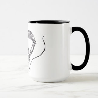 Sketched Headphones Mug