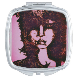 sketchy girl makeup mirror