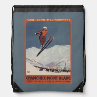 Ski Jump - PLM Olympic Promo Poster Backpack