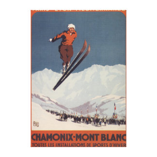 Ski Jump - PLM Olympic Promo Poster Canvas Prints