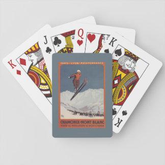 Ski Jump - PLM Olympic Promo Poster Poker Cards