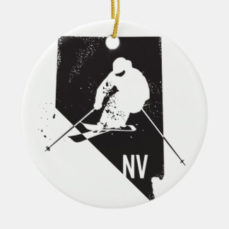 Ski Nevada Christmas Ornament