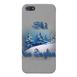 Ski New England  blue iPhone 5/5S Cases