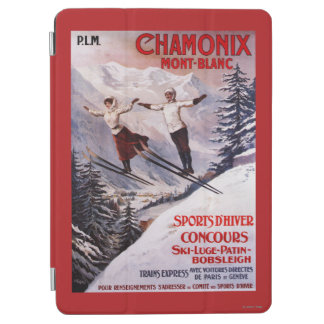 Skiing Promotional Poster iPad Air Cover