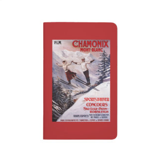 Skiing Promotional Poster Journal