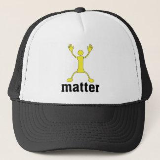 SKILLHAUSE - i matter - YELLOW Trucker Hat