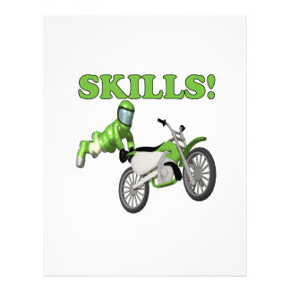 Skills 2 custom flyer