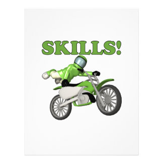 Skills Flyer Design