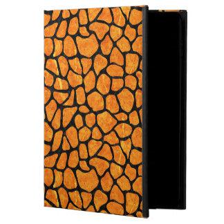 SKIN1 BLACK MARBLE & ORANGE MARBLE POWIS iPad AIR 2 CASE