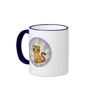 Skippy the Wonder Cat Ringer Mug