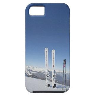 Skis and Ski Poles Tough iPhone 5 Case