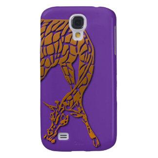 "SKO ""3D GIRAFFE"" Wildlife Artwork Galaxy S4 Case"