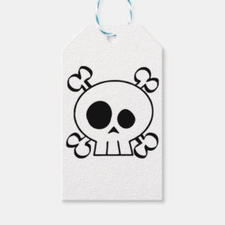 Skull and Bones Demento Gift Tags