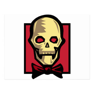 Skull and Bowtie Postcards