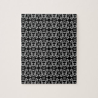 Skull and Crossbone Jigsaw Puzzle