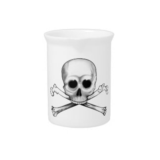 Skull and Crossbones Pitcher