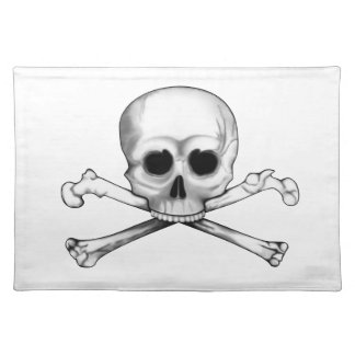 Skull and Crossbones Placemats