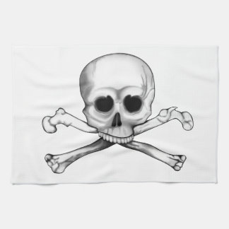 Skull and Crossbones Towel