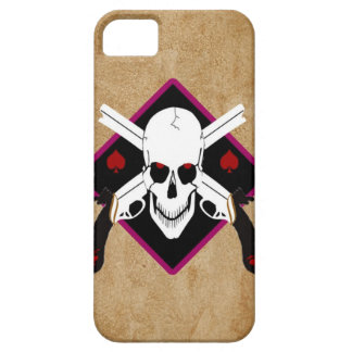 Skull and Guns Tattoo iPhone 5 Cases