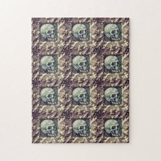 Skull Art Illustration Gift Puzzle